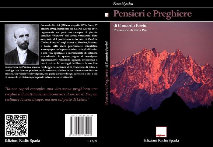 """Profumo di Paradiso. Edizioni Radio Spada pubblica """"Pensieri e preghiere"""", del B. Contardo Ferrini"""