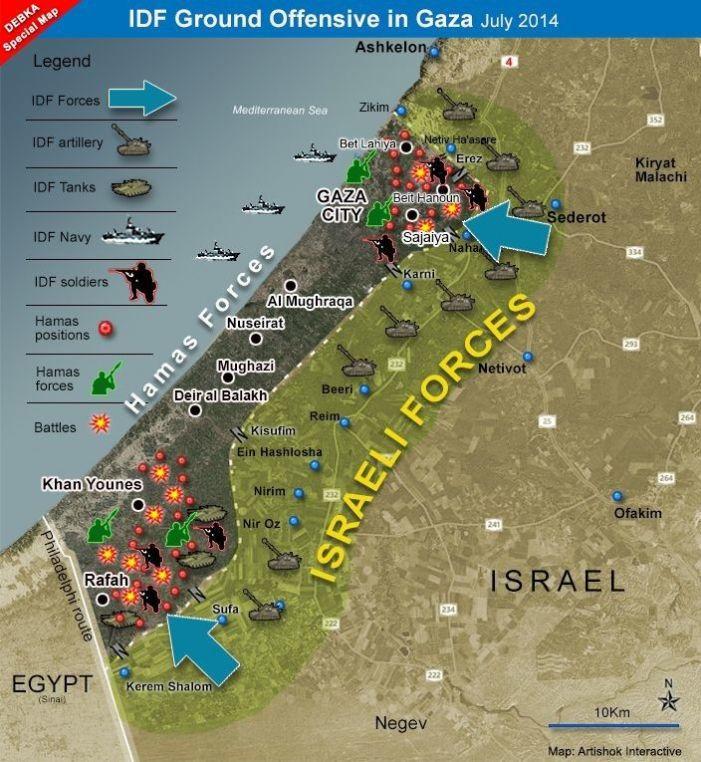 """Netanyahu: """"Pronti all'invasione"""""""