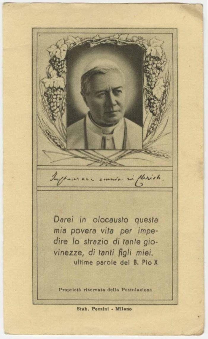 """Padre Lombardi su S. Pio X: sul suo esempio potremmo riammettere i divorziati """"risposati"""" all'Eucaristia"""