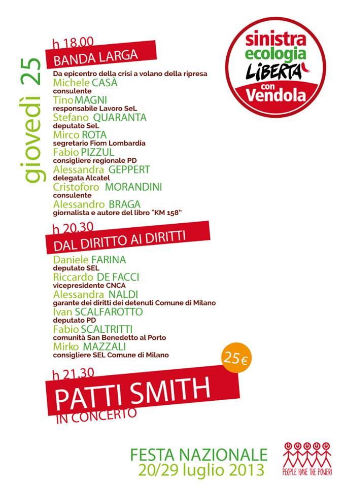 Patti Smith – sì, proprio lei – canterà in Vaticano. Con suor Cristina.