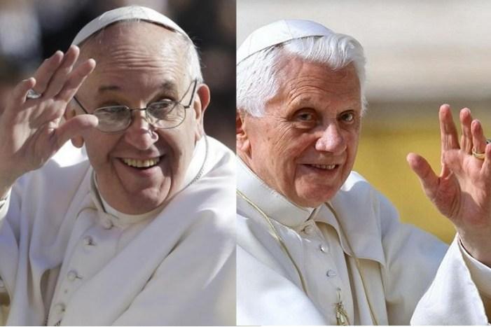Ratzinger conferma i rapporti con Bergoglio e rivela: 'Volevo farmi chiamare padre Benedetto'