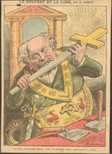 Il Gran Maestro della massoneria: 'Quella di Charlie Hedbo è satira intelligente'