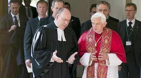 J. Ratzinger: ci sono così tante vie per la salvezza?