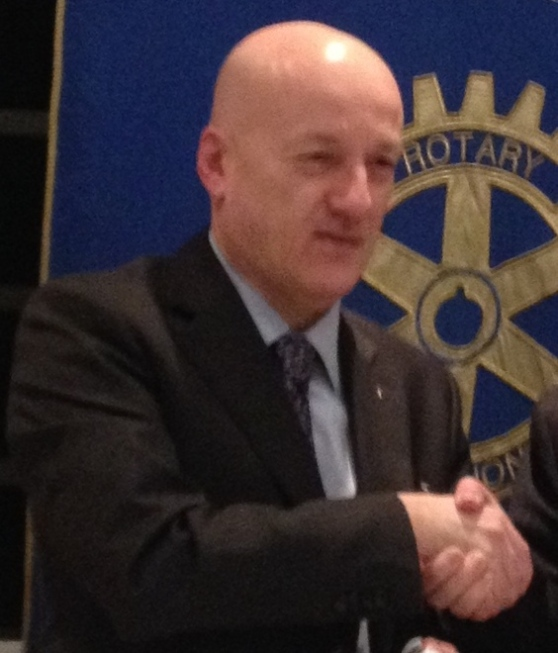 Il Gran Maestro in visita al Rotary Club