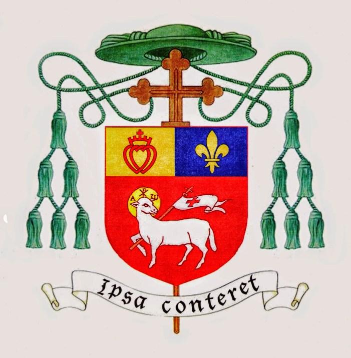 Presentato stemma di Mons. Faure, che afferma: Lefebvre mi offrì episcopato
