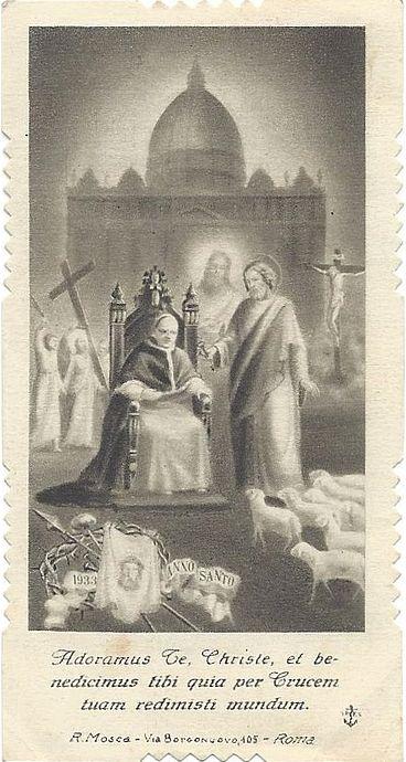 Un ricordo di Pio XI e Pio XII (prima parte)