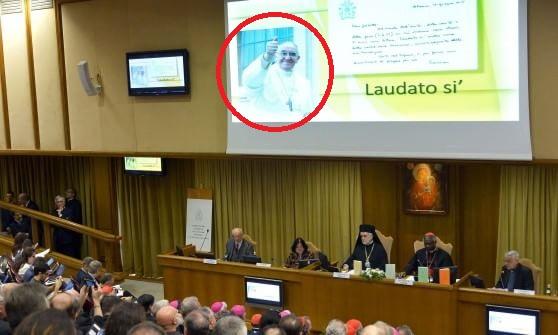 La nuova enciclica 'Laudato si' ufficialmente presentata in Vaticano (da un non cattolico).