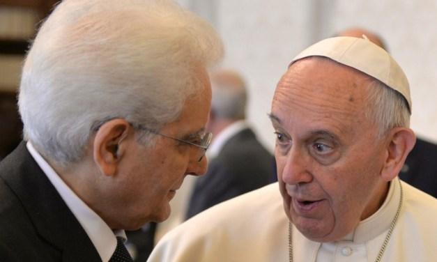 Libertà religiosa: Mattarella, Bergoglio e i Valdesi