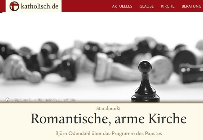 Il sito dei Vescovi tedeschi: in Africa fedeli poveri e ignoranti