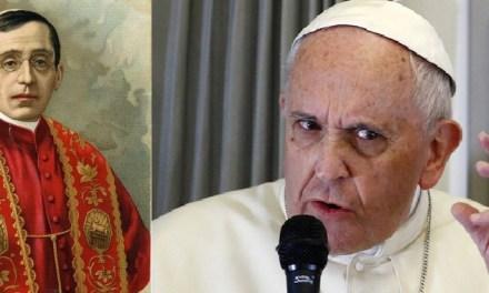 Papa Benedetto XV e Bergoglio, due posizioni a confronto sulla guerra