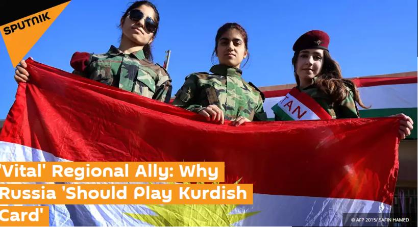 """Dal titolo: """"Alleato 'vitale'. Perché la Russia dovrebbe giocare la carta curda"""""""