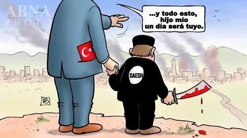 Erdogan: l'Occidente non potrà fermare il flusso di rifugiati siriani. Curdi = ISIS