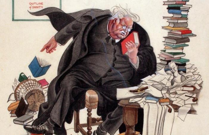Il giorno in cui G. K. Chesterton invitò a merenda l'umanità