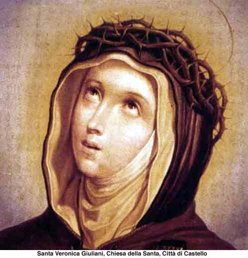 La passione di Gesù vissuta: Santa Veronica Giuliani, la sposa del Crocifisso