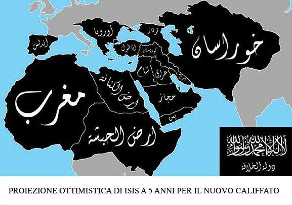 NUOVO IMPERO OTTOMANO PROIEZIONE DI ISIS