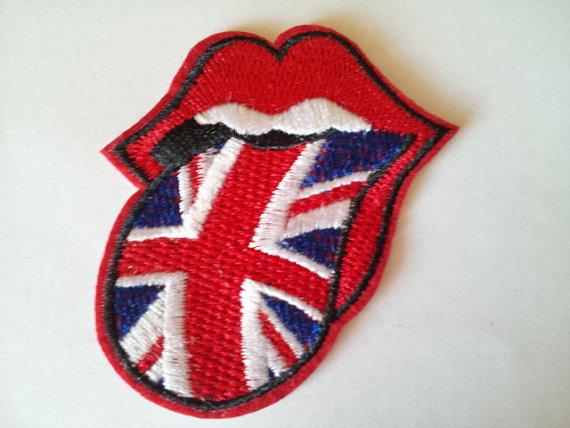 Rolling Stones e bandiera britannica
