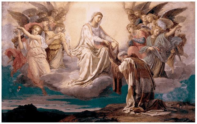 """Vestire gli ignudi. Lo scapolare del Carmelo, ovvero """"l'abitino della Madonna""""."""