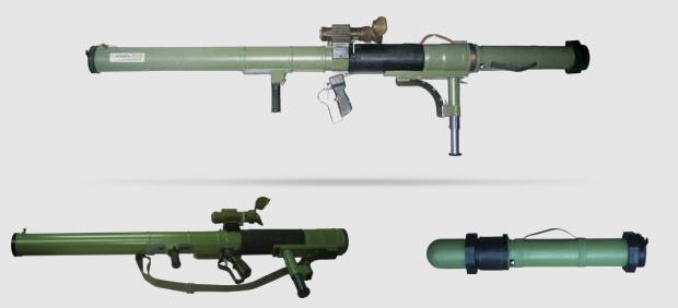 Tra le armi abbandonate, un numero impressionante di M79 OSA