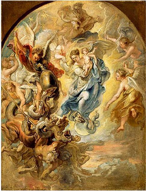 S. MIchele la madonna apocalisse-1