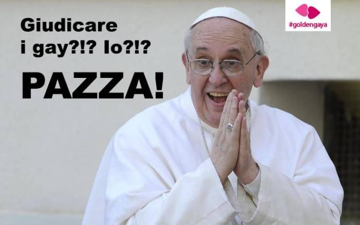 Una nota sui dietrofront di Bergoglio