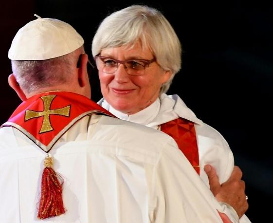 L'ecumenismo umanitario (e ateo) nelle parole di Bergoglio a Malmoe