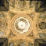 La cupola della Ghiara vista dall'interno.