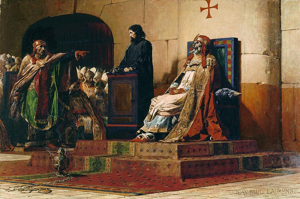 Concilio cadaverico, Jean-Paul Laurens (1870).