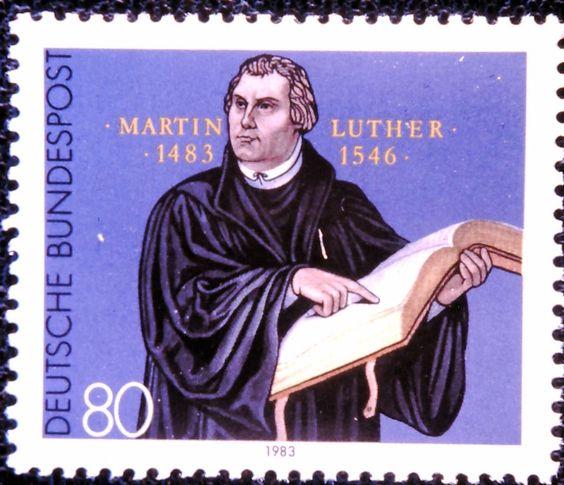 Il francobollo vaticano per celebrare Lutero