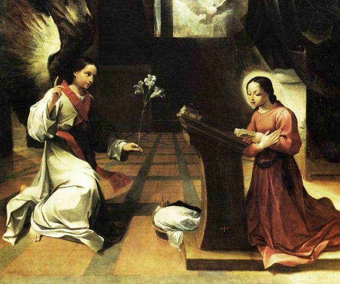 Dell'Annunciazione di Maria [da 'Le Glorie di Maria' di S. Alfonso M. de' Liguori]