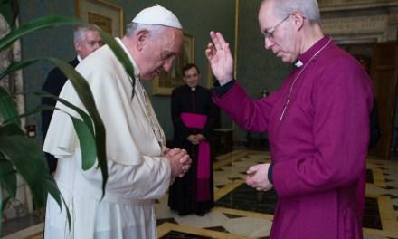 Rosario di riparazione per i vespri anglicani in San Pietro