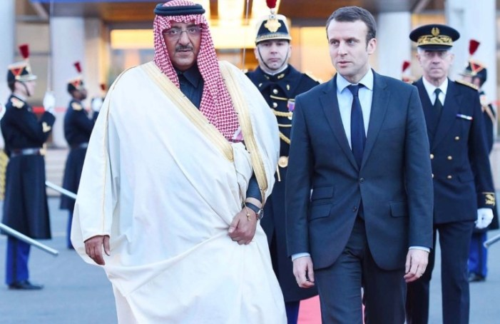 Quelle relazioni pericolose tra Macron e i satrapi di Arabia saudita e Qatar
