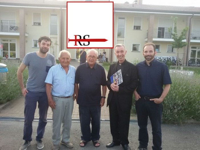 Mons. Ladaria – successore di Müller alla CDF – in visita da don Artoni, che fu consigliere comunista