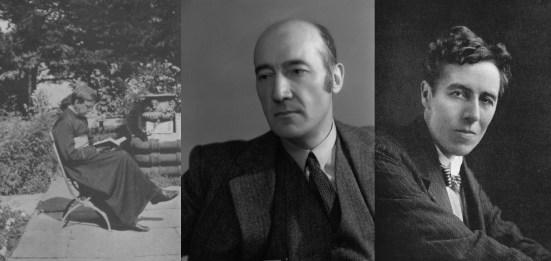 Mons. Robert Hugh Benson, Shane Leslie, Ronald Firbank