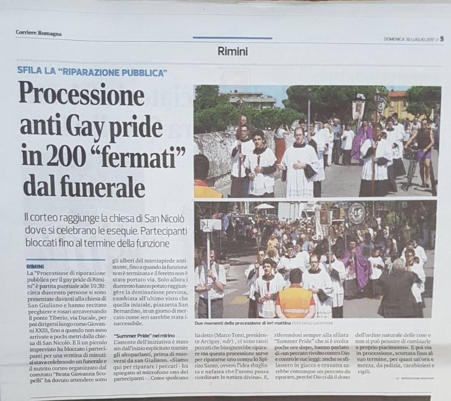 corriere romagna 30 luglio
