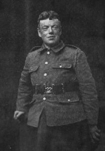 Cecil Chesterton in uniforme (1917 ca.)