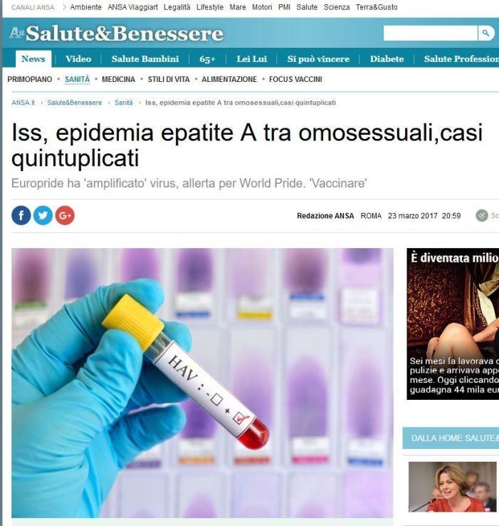 [VACCILEAKS] A quando l'obbligo vaccinale per le comunità LGBT?