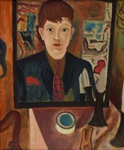 """David Jones, """"Self-portrait"""" (1928)"""