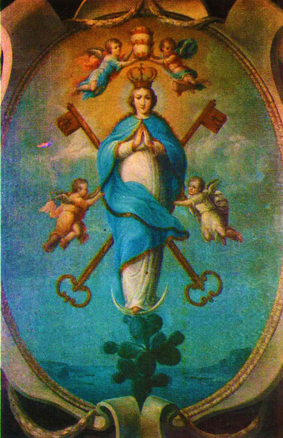 maria santissima simboli papato