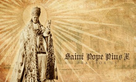 Il testamento di San Pio X