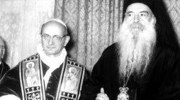 Parole di un vescovo greco sullo scisma d'Oriente al Concilio Vaticano