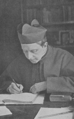 Robert Hugh Benson nel suo studio (1910)