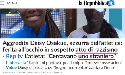 Detti, non detti e mezze bufale: come stanno 'costruendo' il caso dell'aggressione a Daisy Osakue