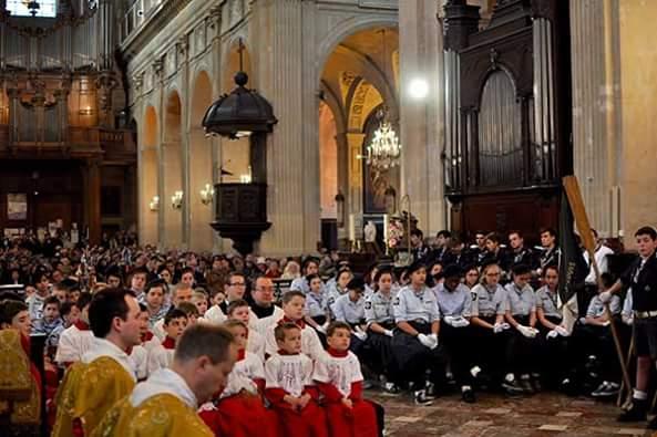 Don Pierpaolo Petrucci nuovo rettore a Saint-Nicolas-du-Chardonnet