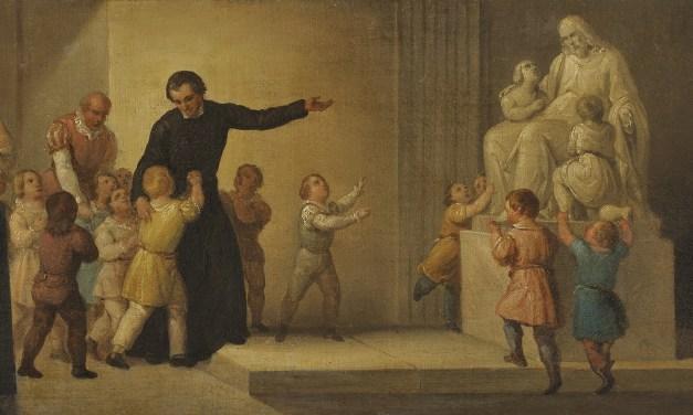 Lo spirito di sacrificio nell'educazione cristiana del bambino