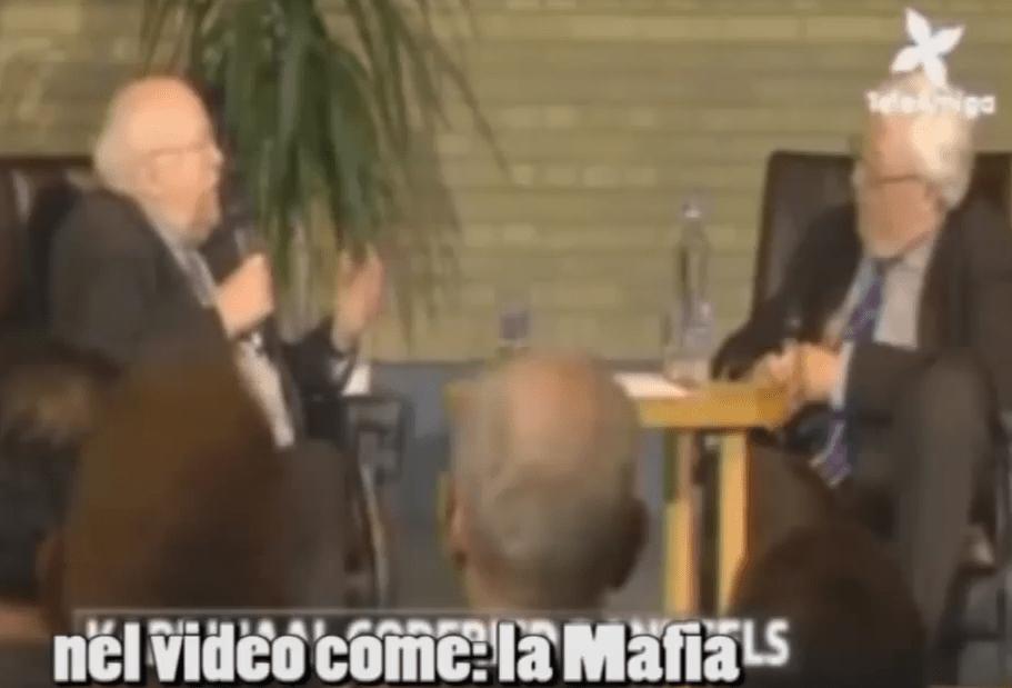 [VIDEO] Il filmato dove il Card. Danneels ammette pubblicamente l'esistenza della 'mafia di San Gallo' (gruppo di pressione di prelati progressisti)