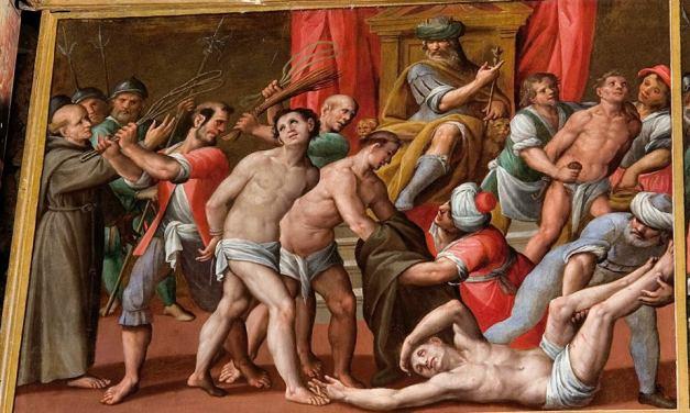 La passione dei santi cinque Protomartiri dell'Ordine dei Minori