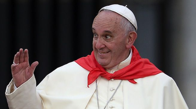 """""""Grazie Francesco"""". Da """"todos los masones del mundo"""""""