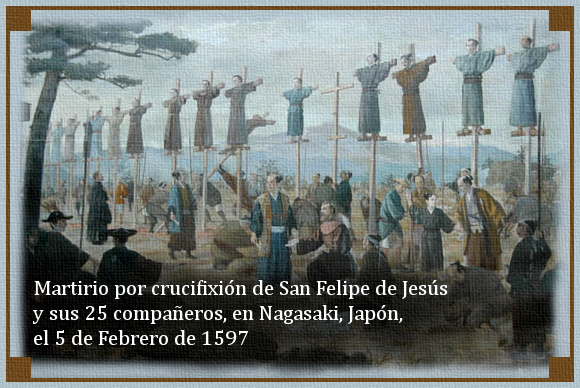 [DIFUNDE TU FE CATOLICA] SAN FELIPE DE JESÚS, el primer Santo Mártir de México