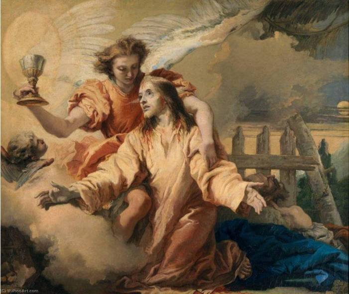 [MEDITAZIONI ALFONSIANE] Gesù fa orazione nell'orto e suda sangue.