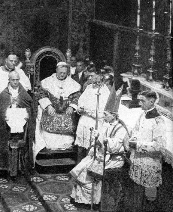 Una lettera di Pio XI al Beato Card. Schuster su fascismo e gioventù cattolica